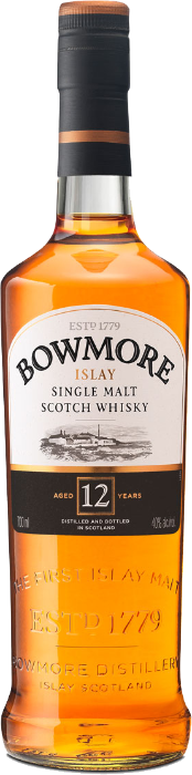 Whisky Bowmore 12 Years,